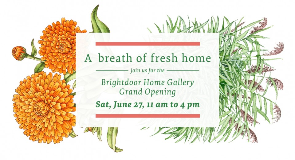 Brightdoor Home Gallery Opening