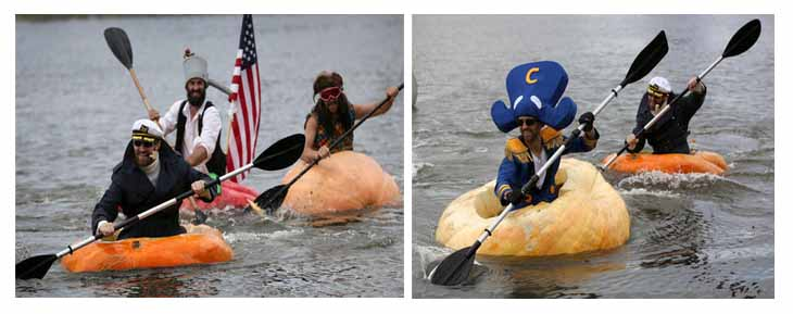 Ginormous Pumpkin Regatta