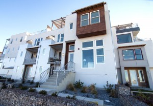 New town homes in South Jordan, Utah