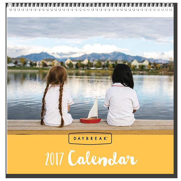 Daybreak Utah 2017 Calendar