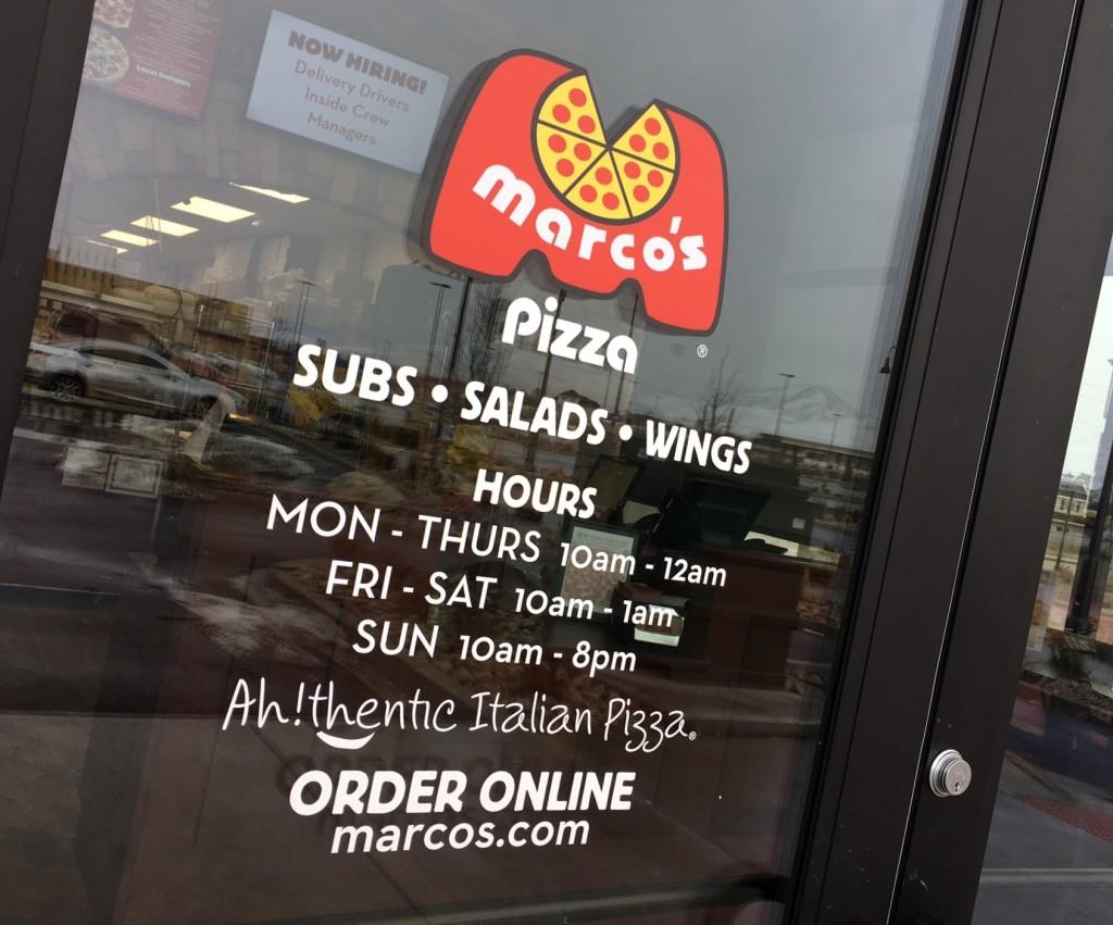 Marco's Pizza Daybreak Utah