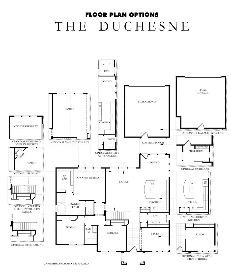 David Weekley Homes Duchesne Main Level | Daybreak Utah