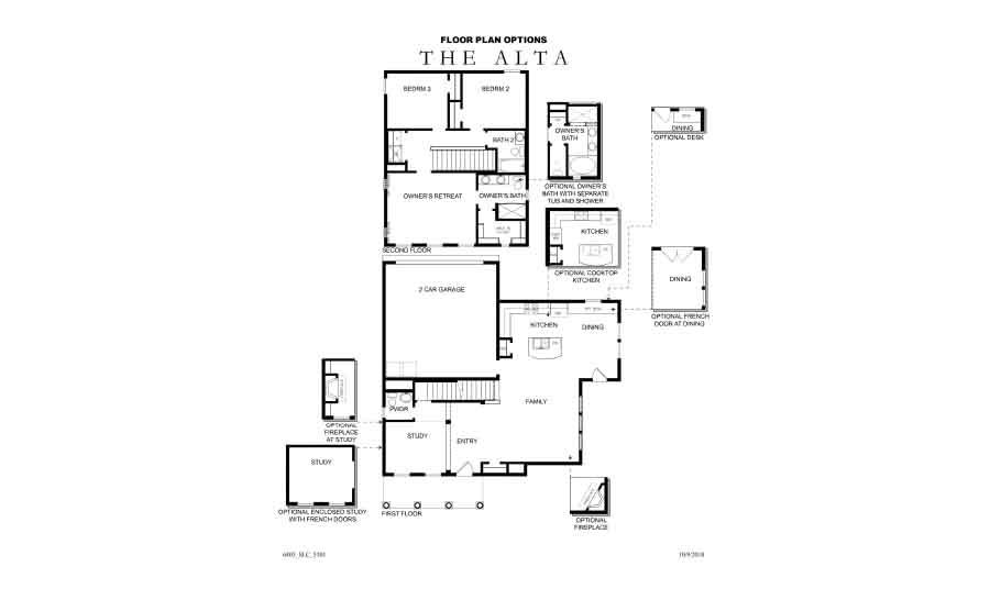 David Weekley Homes Alta Main Level | Daybreak Utah