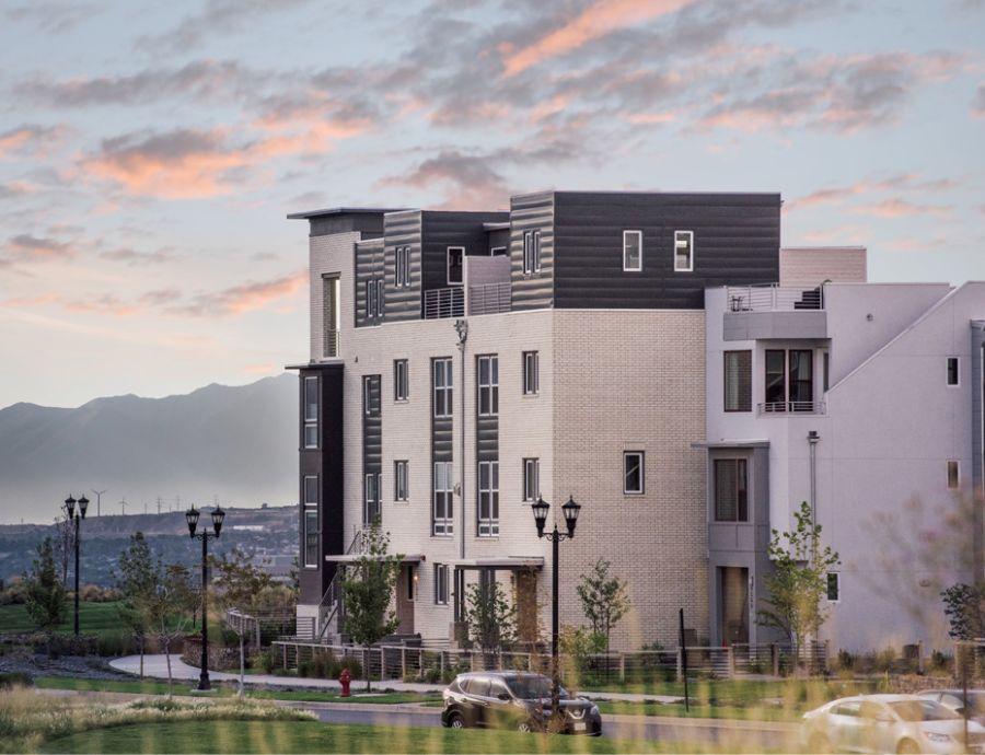 Sego Homes Exterior at Daybreak   Utah Home Builders