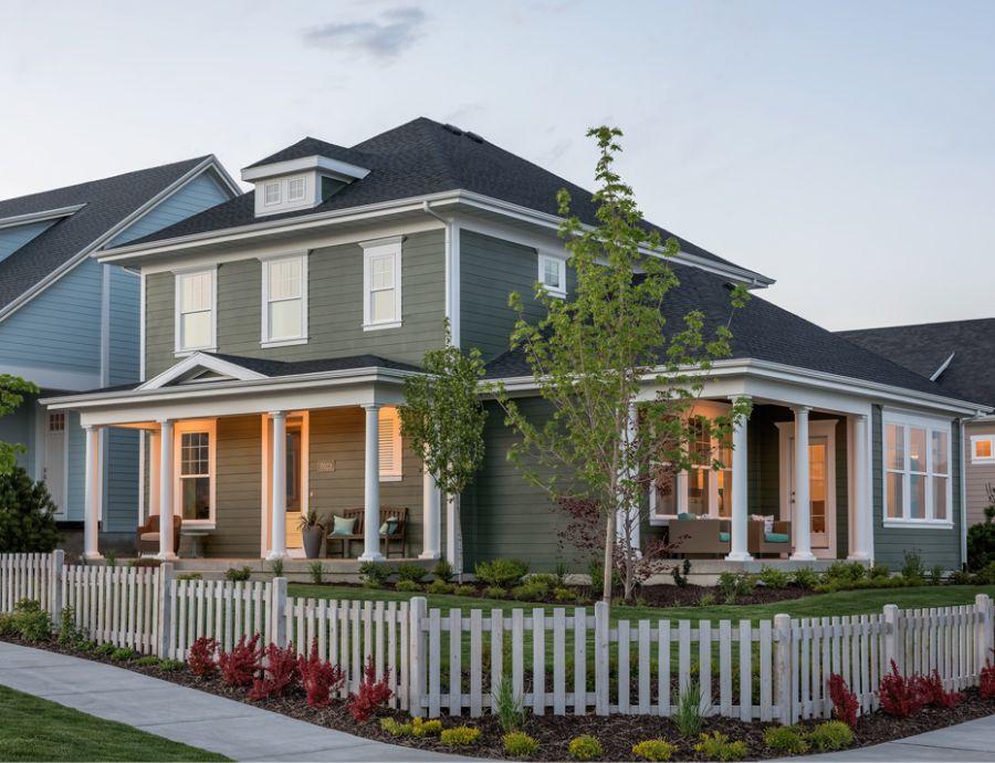 David Weekley Homes Exterior at Daybreak | Utah Home Builders