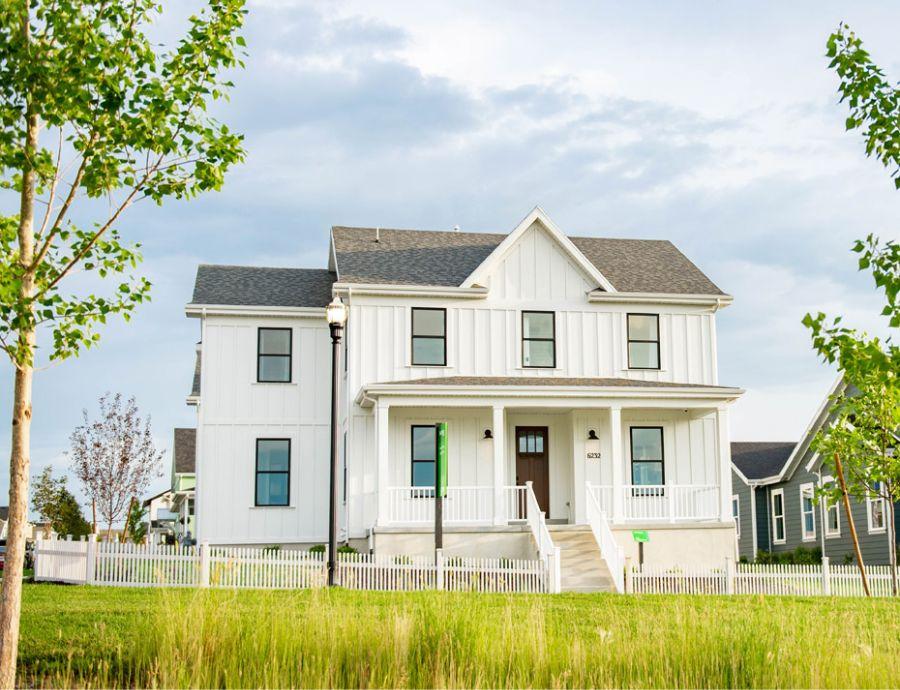 Fieldstone Homes Exterior at Daybreak   Utah Home Builders