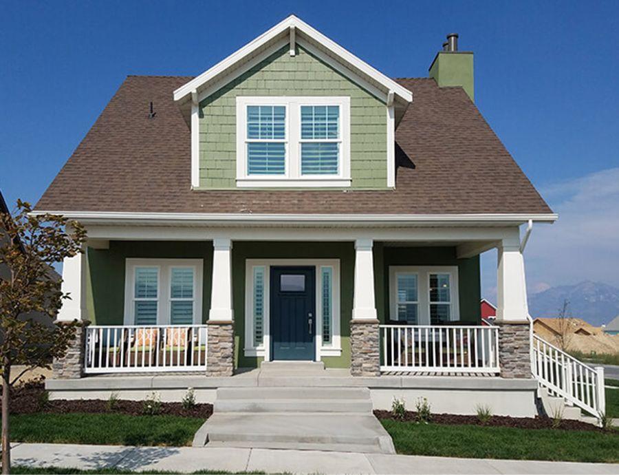 Ivory Homes Exterior at Daybreak | Utah Home Builders