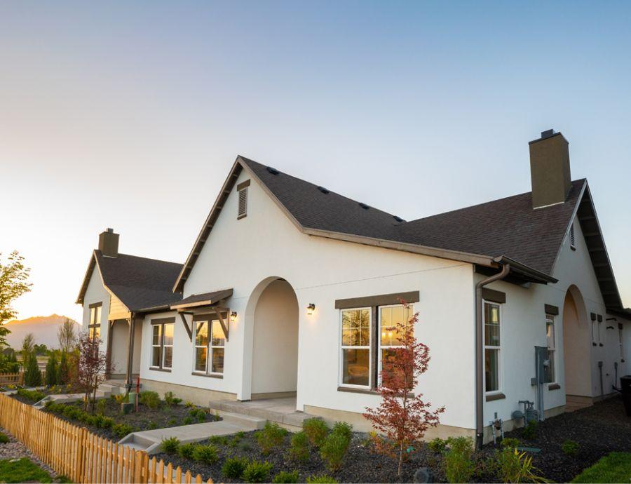 Oakwoodlife Exterior at Daybreak   Utah Home Builders
