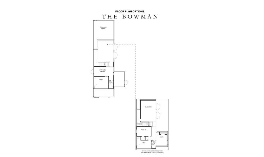 David Weekley Homes Bowman Basement | Daybreak Utah