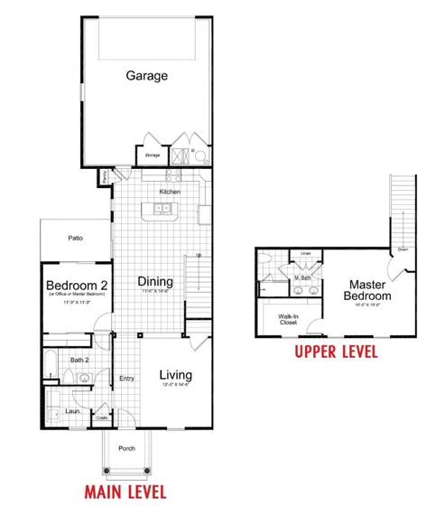 Ivory Homes Holly Main Level | Daybreak Utah