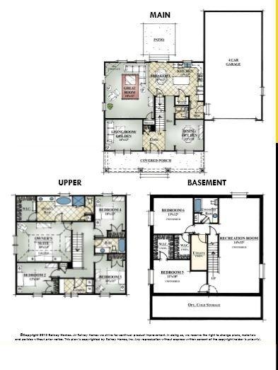 Rainey Homes Bellevue Main Level | Daybreak Utah