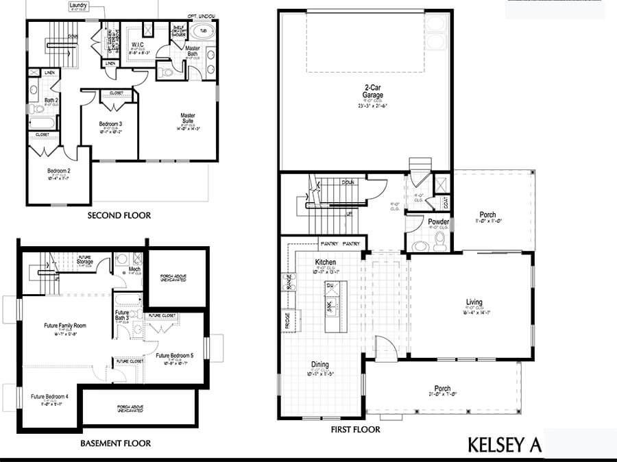 Holmes Homes Kelsey Main Level Daybreak Utah