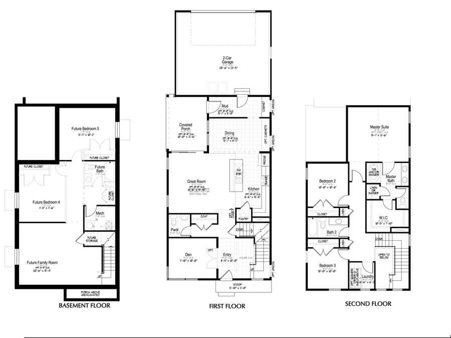 Holmes Homes Kessler Main Level | Daybreak Utah