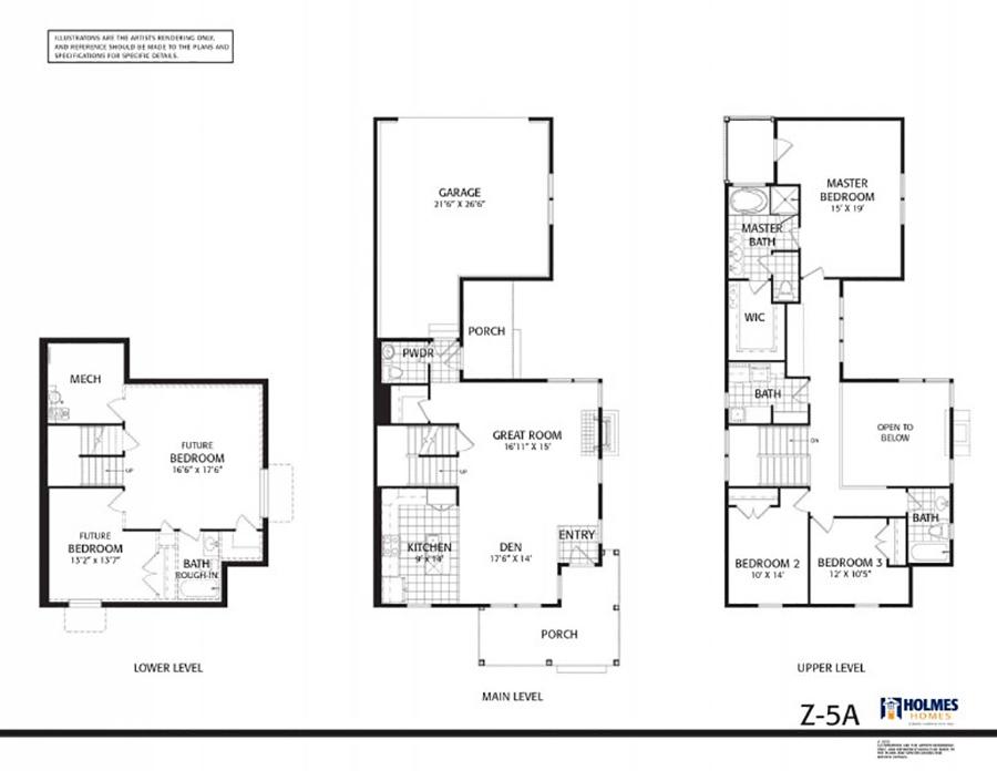 Holmes Homes Seacott Main Level | Daybreak Utah