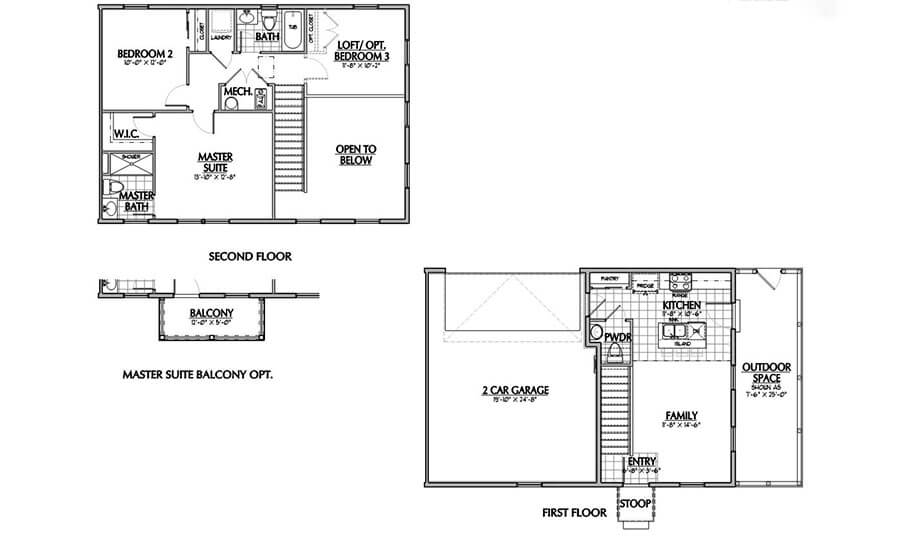 Holmes Homes Mews C Main Level | Daybreak Utah