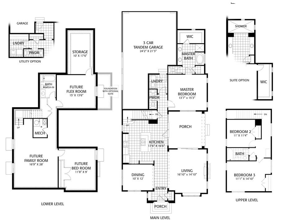 Holmes Homes Palisades Main Level | Daybreak Utah