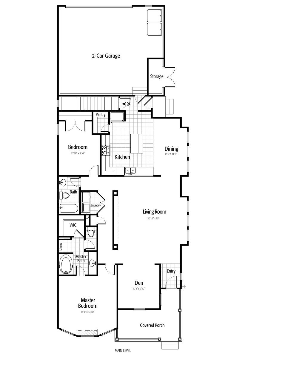 Holmes Homes Appleton Main Level | Daybreak Utah