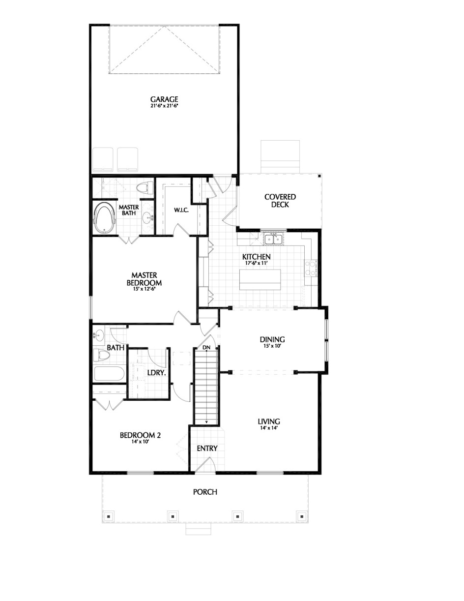 Holmes Homes Hartwell Main Level | Daybreak Utah