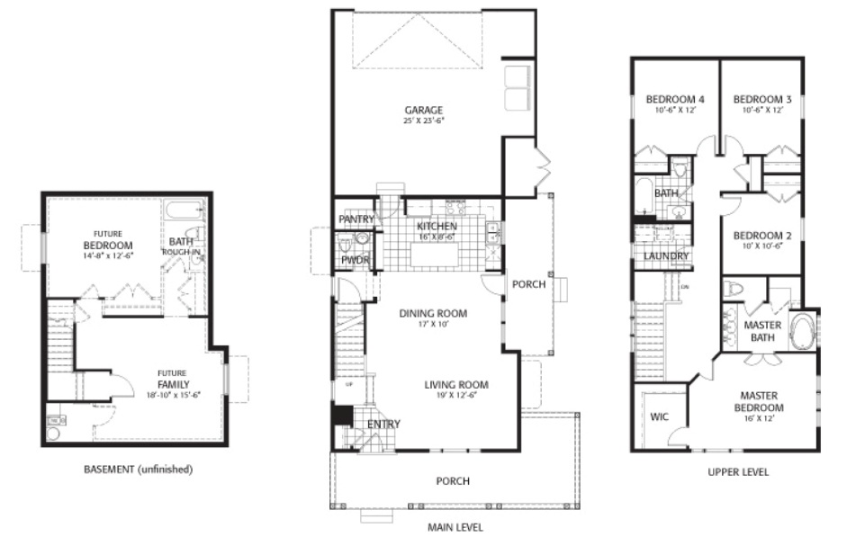 Holmes Homes Colorado Main Level | Daybreak Utah