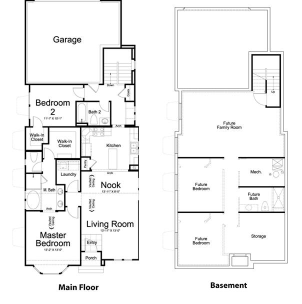 Ivory Homes Alden Main Level | Daybreak Utah