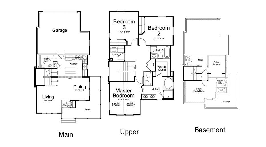 Ivory Homes Dearborn Main Level | Daybreak Utah