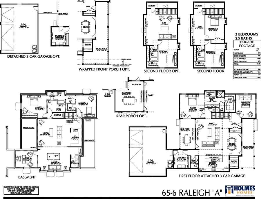 Holmes Homes Raleigh Main Level Daybreak Utah