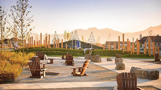 Heights Park Gathering Space Daybreak Utah