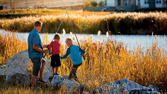 Fishing Lake Village Daybreak Utah