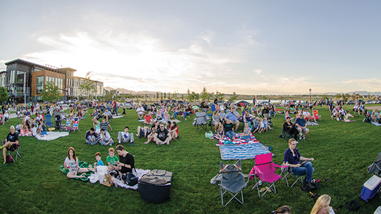 Soda Row Lawn Concert Daybreak Utah