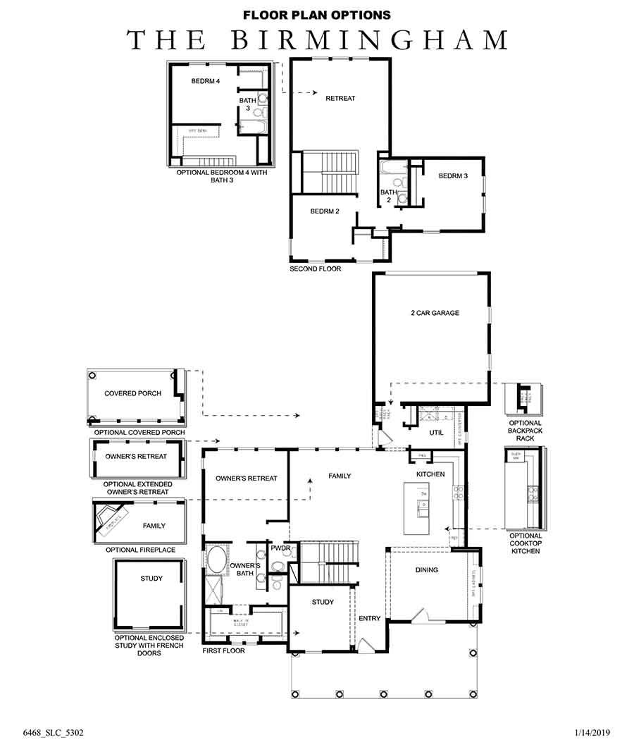 David Weekley Homes Birmingham Main Level | Daybreak Utah