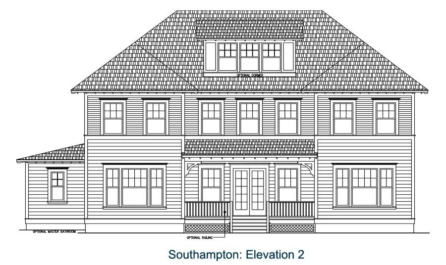Southampton floor plan sketch