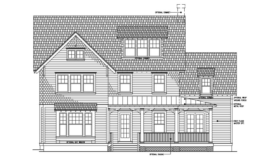 Artist sketch of Brookhaven floor plan located in Daybreak.