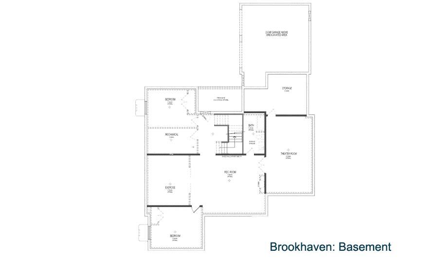 Parkwood Homes Brookhaven Basement Daybreak Utah
