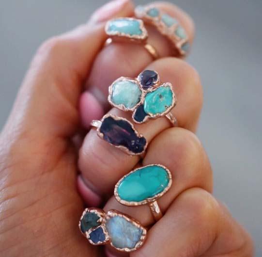 Variety of handmade jewelry | Indigo Row located in South Jordan, Utah
