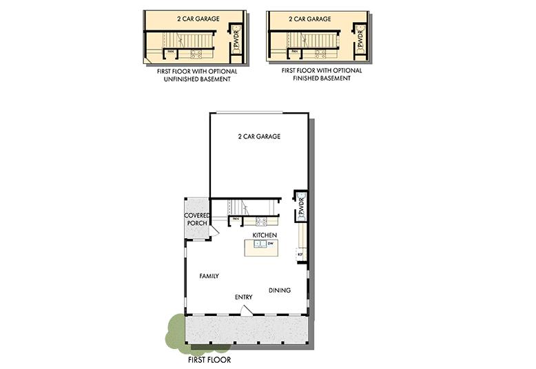 David Weekley Homes The Clayton Main Level | Daybreak Utah
