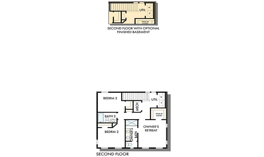 David Weekley Homes The Clayton Second Level | Daybreak Utah