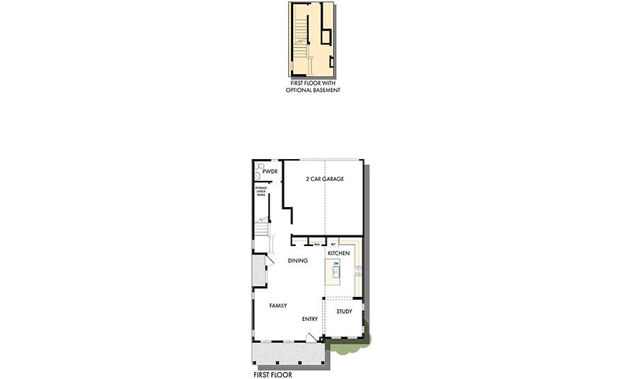 David Weekley Homes The Grandview Main Level | Daybreak Utah