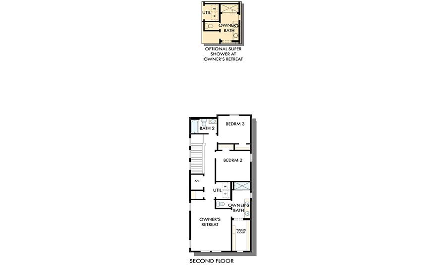 David Weekley Homes The Grandview Second Level Daybreak Utah