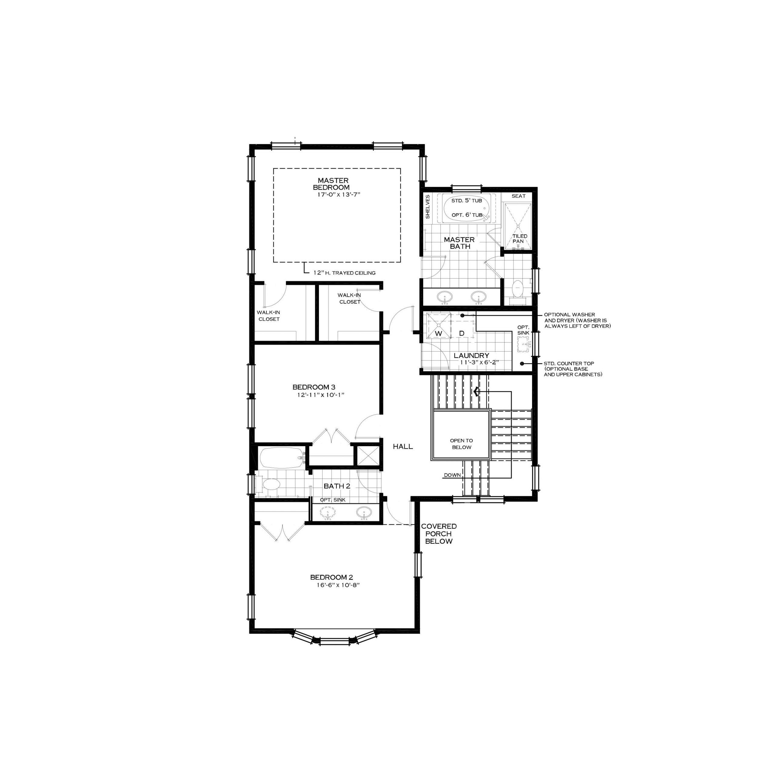 Parkwood Homes Asheville Second Level | Daybreak Utah