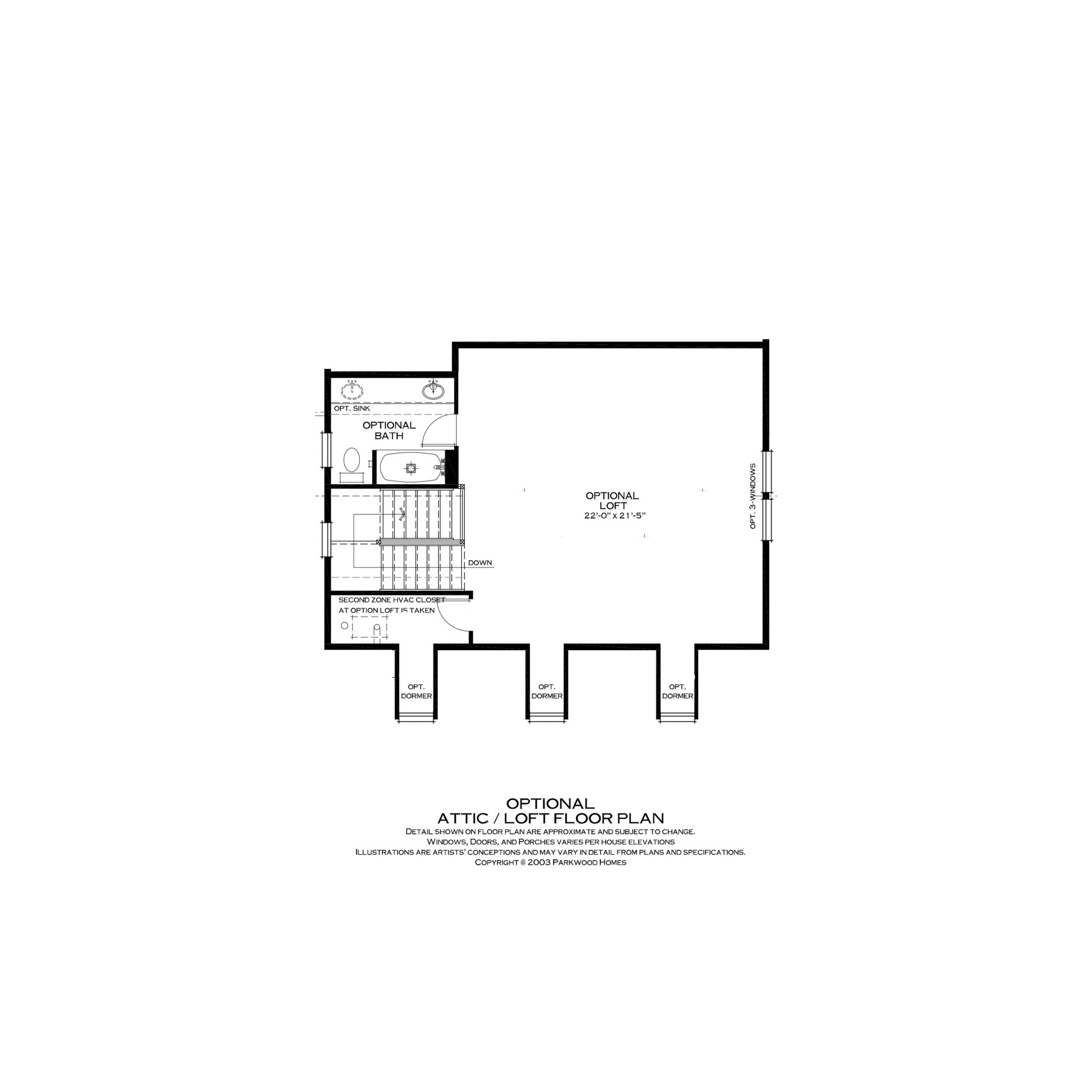 Parkwood Homes Somerville Options | Daybreak Utah
