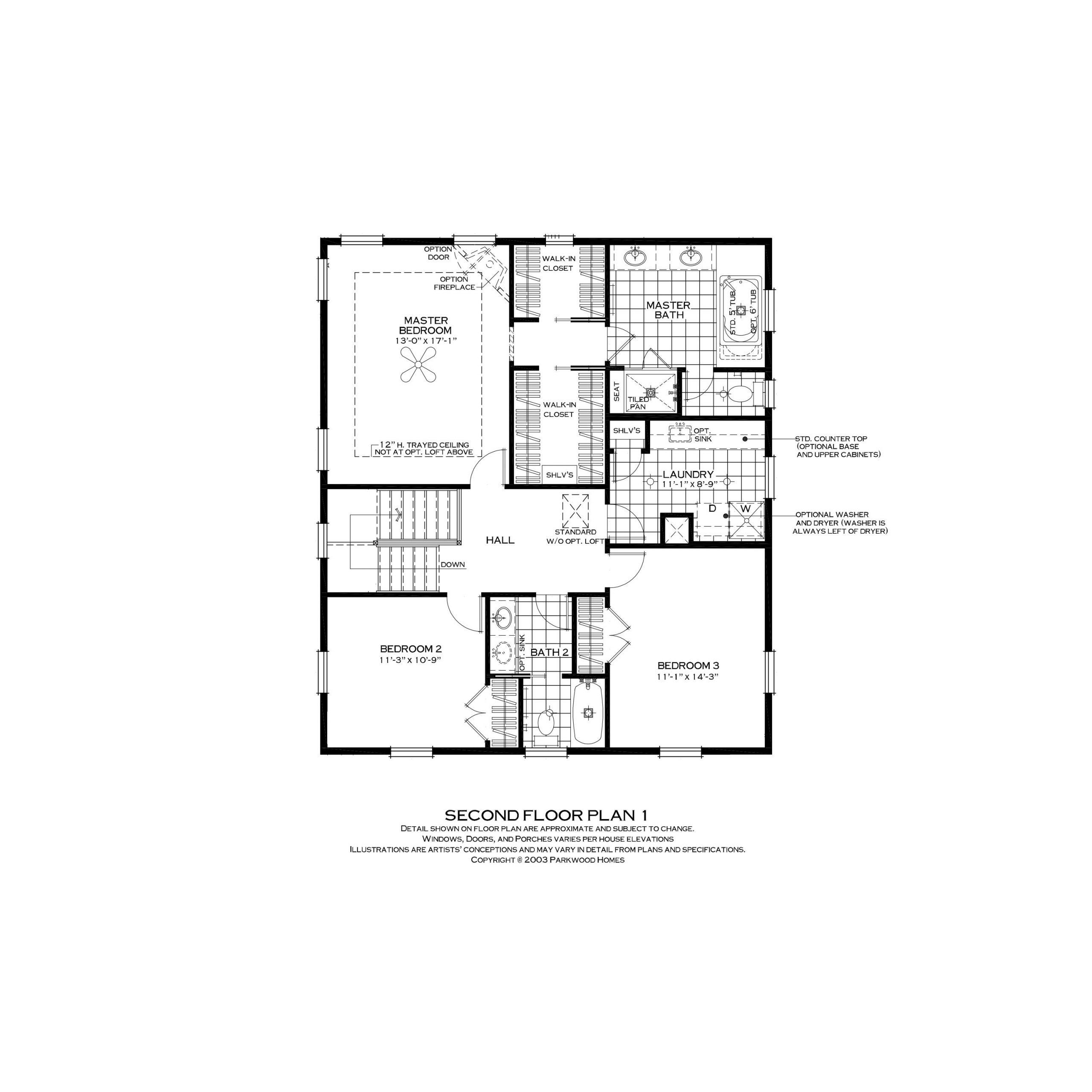 Parkwood Homes Somerville Second Level | Daybreak Utah