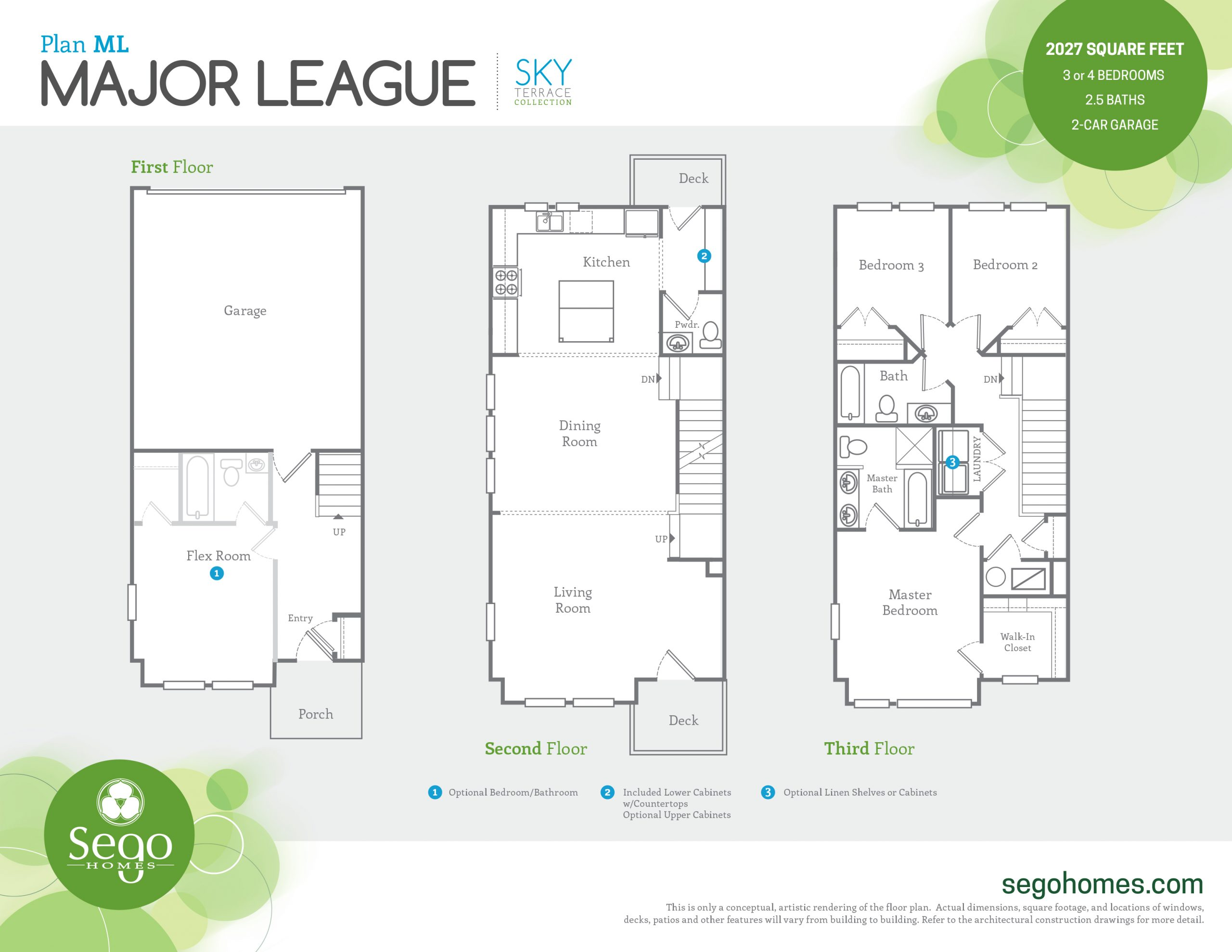 Sego Homes Major League Main Level | Daybreak Utah