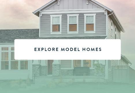Model home at Daybreak Utah, a new home community in South Jordan