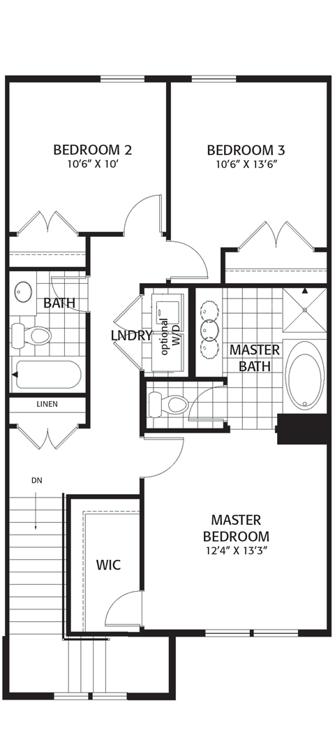 Holmes Homes Brownstone B Third Level | Daybreak Utah