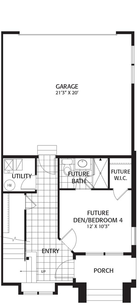 Holmes Homes Brownstone C Main Level Daybreak Utah