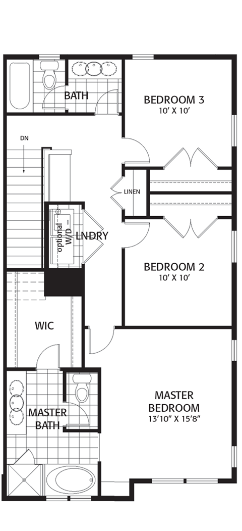 Holmes Homes Brownstone C Third Level Daybreak Utah