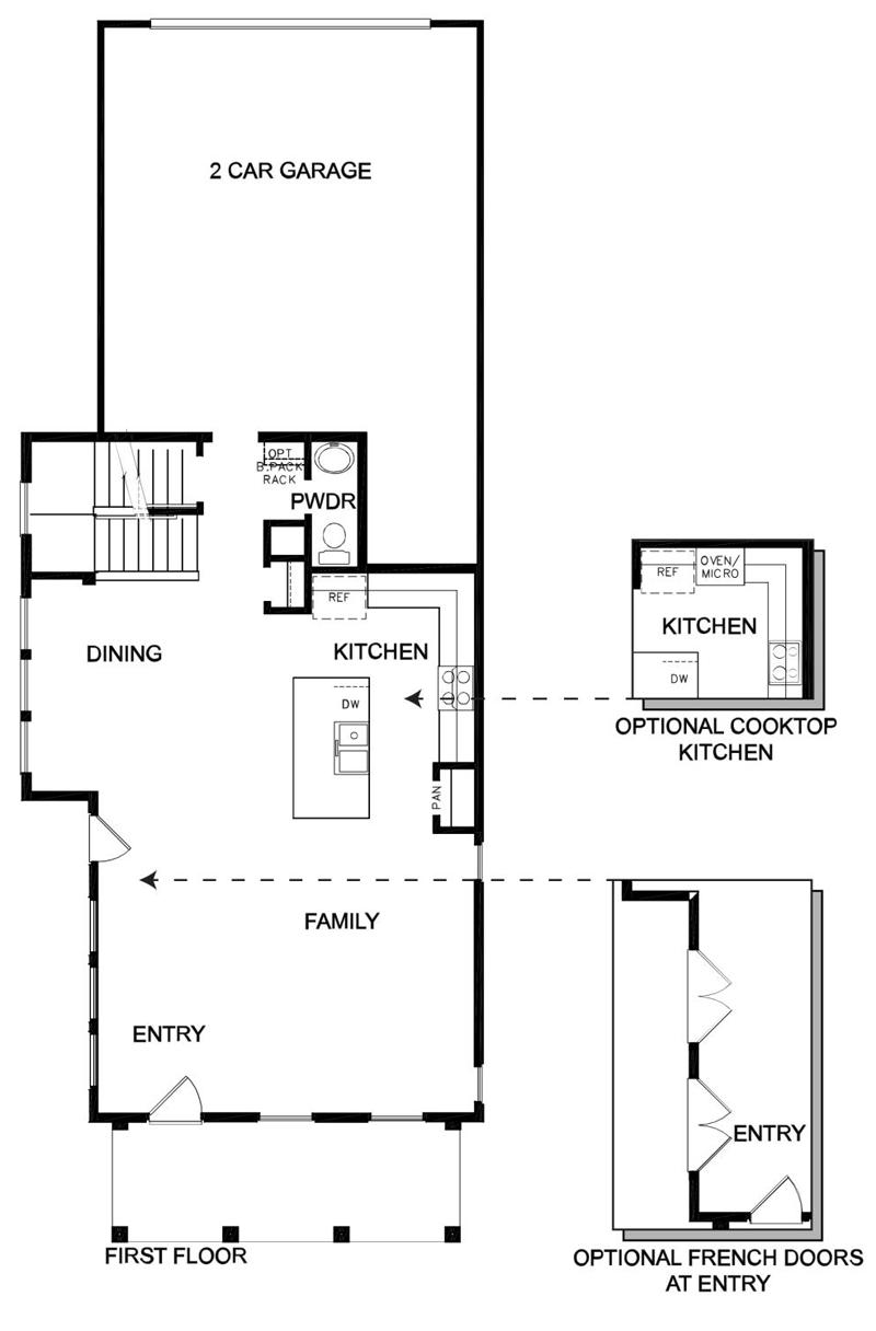 David Weekley Homes The Casale Main Level | Daybreak Utah