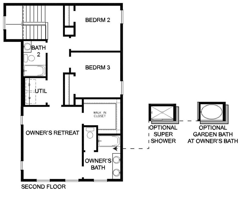 David Weekley Homes The Casale Second Level | Daybreak Utah