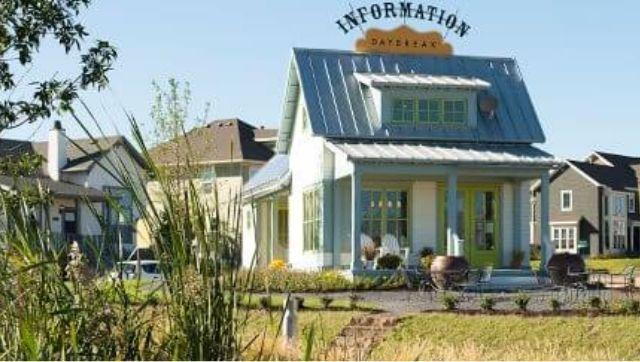 Lake Cottage Information Center at Daybreak in South Jordan, Utah