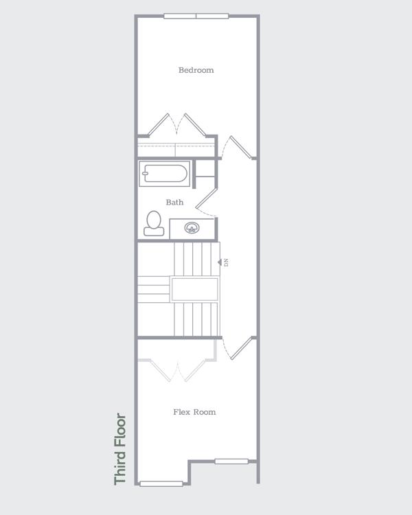 Sego Homes Manhattan Third Level | Daybreak Utah